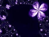 Krans av blommor — Stockfoto