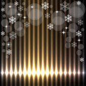 Beautiful christmas lights background — Stock Vector