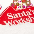 Santas Workshop — Stock Photo