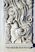 Indian Plaster Duck Carving — Stock Photo