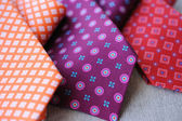 Three colorful Ties — Stock Photo