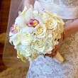 Stock Photo: Beautiful Bride's Bouquet