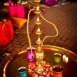Hookah at Indian Wedding — Stock Photo