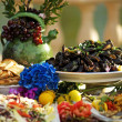 Colorful Tuscan Feast - Stockfoto