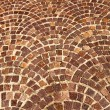Arched brick background pattern — Stock Photo #7096820