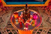 Decoração de casamento indiano — Foto Stock