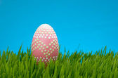 Pink Easter egg — Stockfoto