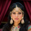 Stock Photo: Portrait of beautiful IndiBride