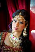 красивая индийская невеста — Стоковое фото