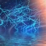 kosmisk storm — Stockfoto