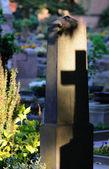 Graveyard impression — Stock Photo