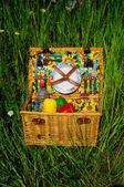 Picknickmand — Stockfoto