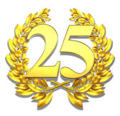 Number twenty-five — Stock Photo