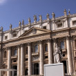 St. Peter's from the Right — Stock Photo #7492739
