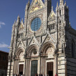 Stock Photo: Front of SienCathedral