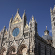 The Facade of the Siena Cathedral — Stock Photo