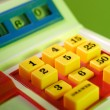 Toy Cash Register — Stock Photo