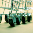 Shopping Trolleys - Stockfoto