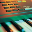 Stock Photo: Electronic Music Keyboard
