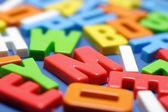 Alphabets — Stock Photo