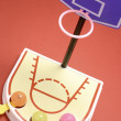 Toy Basketball Game - Stock Photo