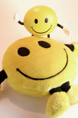 Smiley Soft Toys — Stock Photo