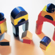 Toy Building Blocks — Stock Photo