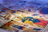 Tarot kartları — Stok fotoğraf