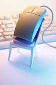 电脑鼠标 — 图库照片