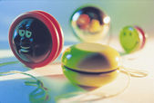 Collection of Yoyos — Stock Photo