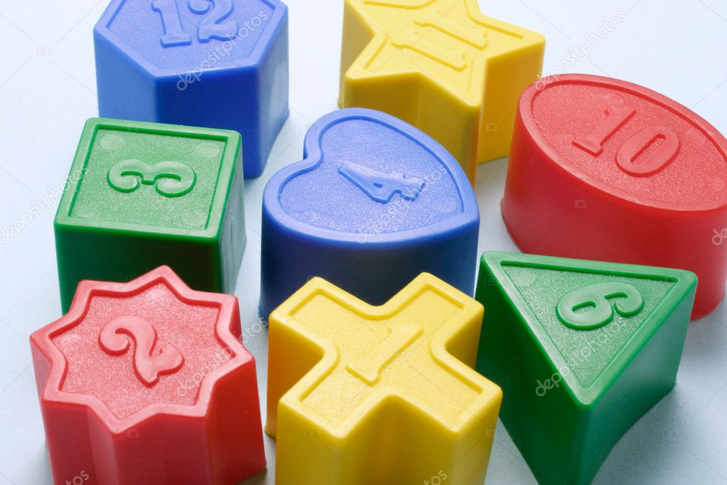  Close Up of  Shape Sorter Toy Blocks  Stock Photo #6837762