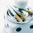 Ash Tray and Cigarettes — Stock Photo