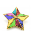 Stock Photo: Christmas Star Ornament