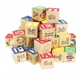 Alphabet Blocks — Stockfoto