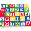 Alphabet Blocks — Stock Photo #6898460