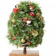 Stock Photo: Miniature Christmas Tree