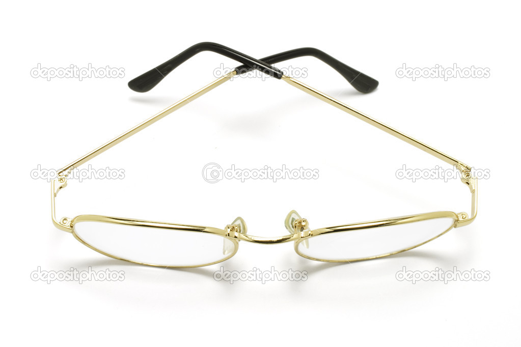 Eyeglasses on White Background — Stock Photo #6897208