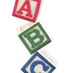 Alphabet Blocks — Stock Photo #6900468