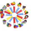 Party Blowers — Stock fotografie