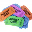 Movie Tickets — Stock Photo