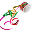 Roll of Gift Ribbons — Stock Photo