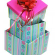 Stack of Gift Boxes — Foto Stock