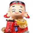 God of Prosperity Figurine — Stock Photo