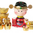 God of Prosperity Figurine — Stock fotografie