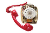 Old Dial Phone — Stock Photo