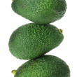Stack of Avocados — 图库照片
