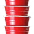 Stack of Plastic Cups — Stock Photo