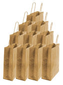 Brown Paper Bags — Stock Photo