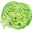 Stock Photo: Sliced cabbage