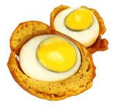 Egg snack — Stock Photo